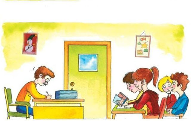 Ανέκδοτο - Στο σχολείο