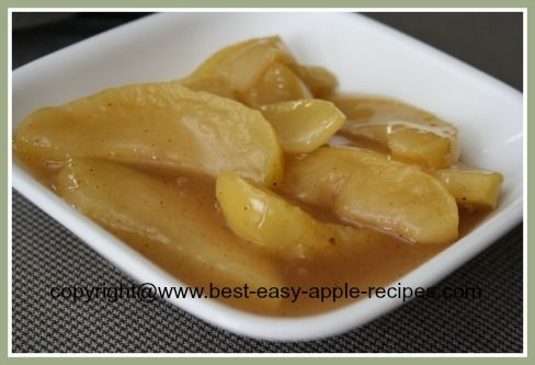 How to Make STEWED APPLES that tastes like the Cracker Barrel Ones!