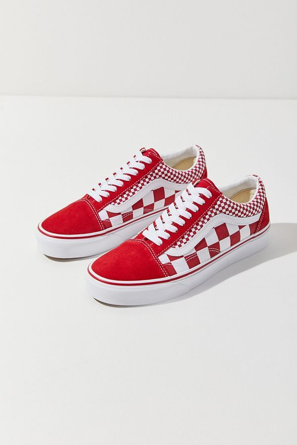 c2fa10afa7115a Slide View  2  Vans Old Skool Mix Checkerboard Sneaker