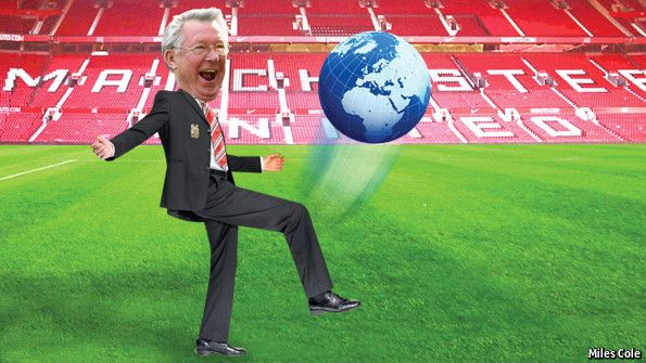 The socialist international - Sir Alex Ferguson embraced the world and conquered it. His left-wing fans should take note | However, Sir Alex Ferguson's great skill is man management. In public-policy terms, United runs both a superb domestic education system and a liberal immigration policy. (11/05/13) || HRM