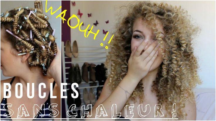 Je teste les Frisettes ! Sans chaleur – YouTube