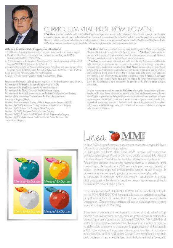 Scopri di più sul Dr. #RomuloMene e sulla #LineaMM http://www.mycli.it/it/2-prodotti