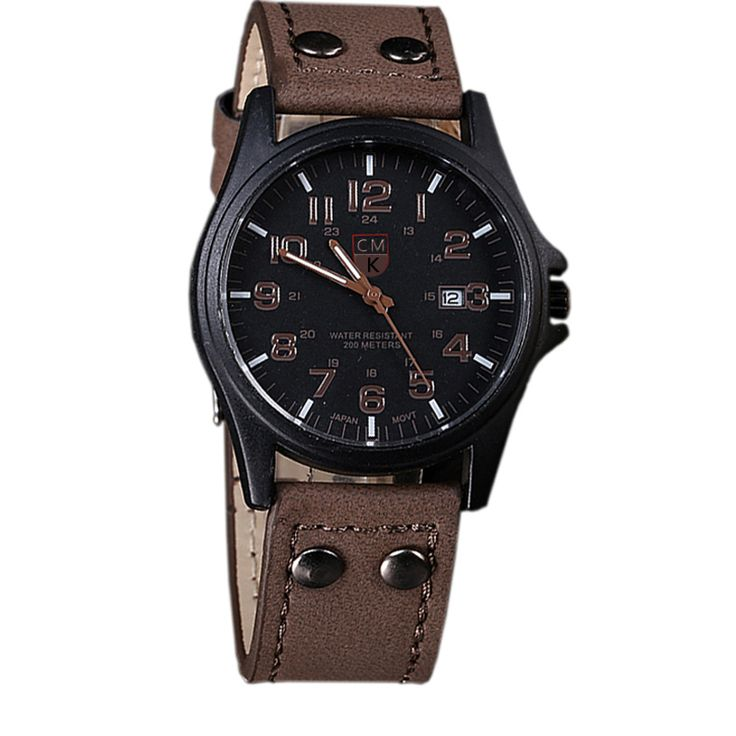 Vintage Classic Date Leather Strap Sport Quartz Military Brand Wristwatch     Tag a friend who would love this!     FREE Shipping Worldwide | Brunei's largest e-commerce site.    Buy one here---> https://mybruneistore.com/fashion-new-arrival-vintage-classic-mens-date-leather-strap-watches-sport-quartz-watch-military-brand-wristwatch/