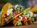 Ground Chicken Tacos with Creamy Salsa Recipe : Sunny Anderson : Recipes : Food Network