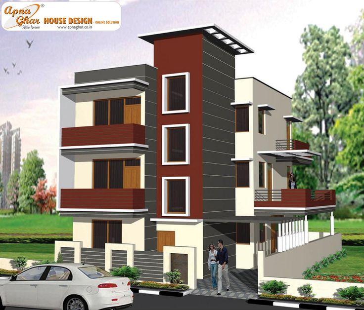 3 floor elevation design thefloors co for 3 floor house elevation designs andhra