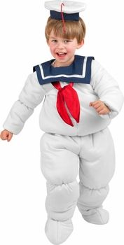 toddler stay puft marshmallow man costume #ToddlerCostume #HalloweenCostume #Halloween2014