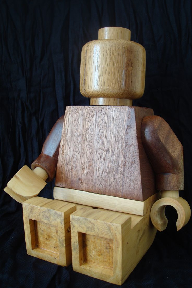 LEGO géant - Couleurs bois