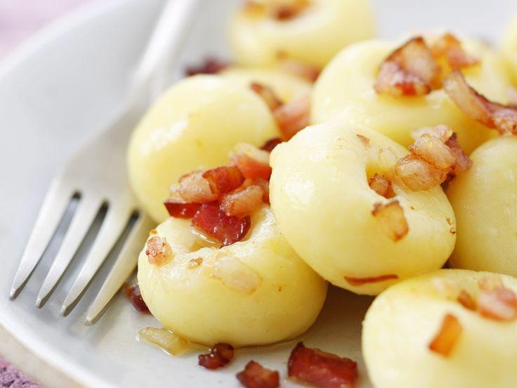 Kartoffelklößchen mit Speck auf schlesische Art - smarter - Zeit: 20 Min. | eatsmarter.de