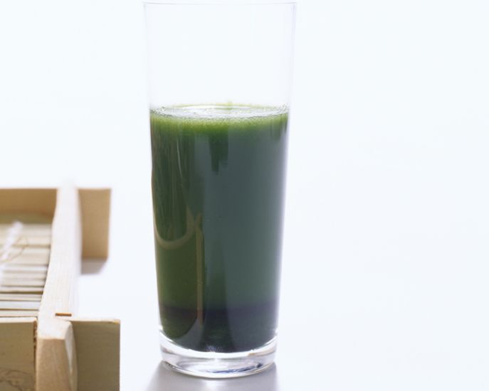 Sip on This: Green Juice Loaded With Antioxidants