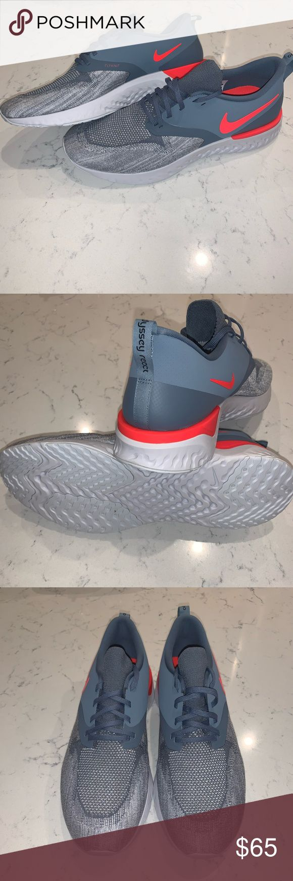 ?? MENS SIZE 15 NIKE ODYSSEY REACT 2 FLYKNIT BRAND NEW IN BOX (NO TOP) FAS…