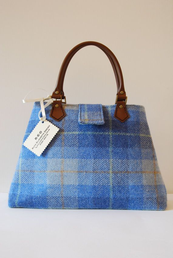 Handmade tweed handbag?  Yes please!
