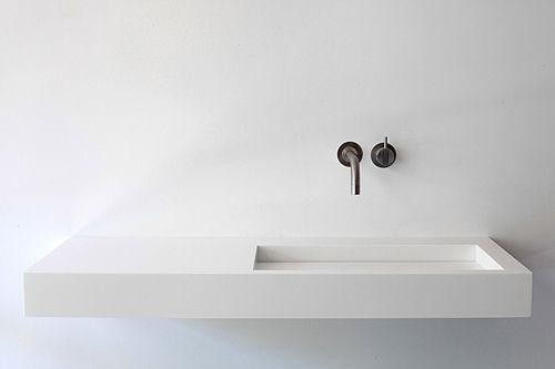 KUUB basin in HI-MACS from the the NotOnlyWhite series by Studio Marike Andeweg.