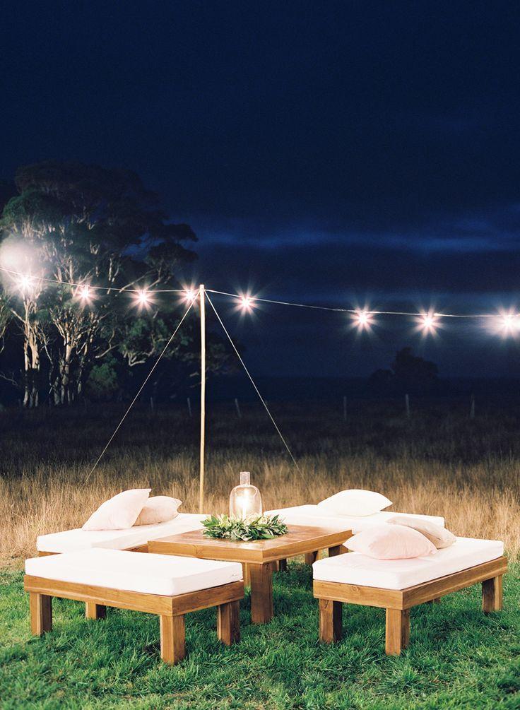 lounge chill out guirnalda de luces