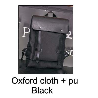 JASON TUTU Good quality PU leather backpack Brand design Brown Black backpack men travel bag 15-25 days to Moscow mochila B433