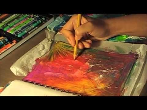 A Sloppy Mess - Art Journal