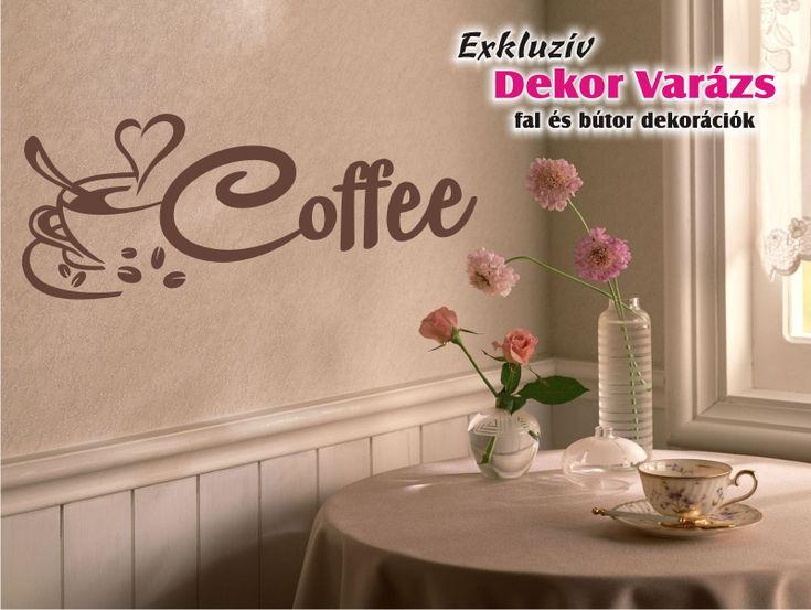 Kávés falmatrica a kávé szerelmeseinek!  https://www.dekor-varazs.hu/termek/5884-coffee-18_-faltetovalas