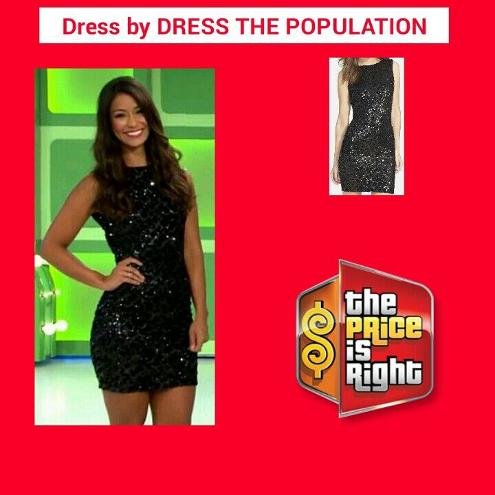 DRESS THE POPULATION 'Kim' Sequin Body-Con Dress in Black Cheetah ...