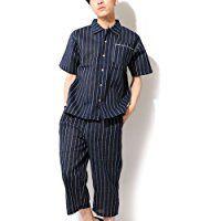 (ベストマート)BestMart 涼しい しじら織り 甚平 袴付き パジャマ 上下 セットアップ メンズ 622412