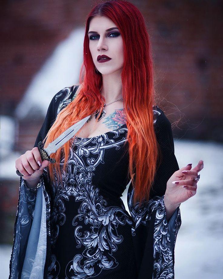 "360 Likes, 12 Comments - Slavika (@__slavika) on Instagram: ""Photo: @daedra_model Dress: @vintage.imperial #tattoolove #inkedgirlsdoitbetter #tattoolife…"""