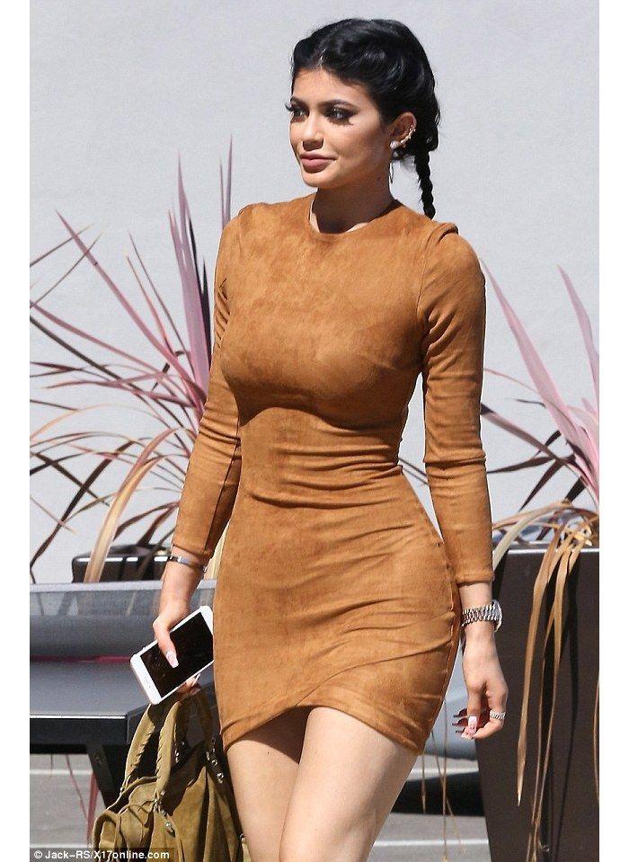 'Gunsmoke' Tan Suedette Asymmetric Dress - Mistress Rocks