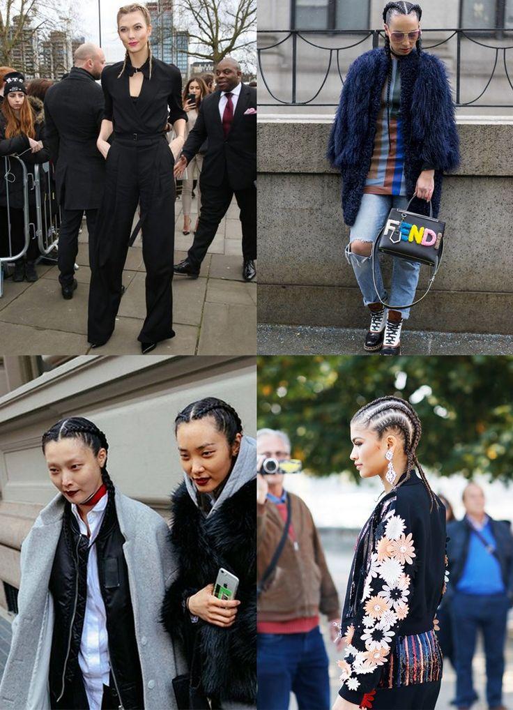 Kim Kardashian te ensina como faz: Boxer Braids, o penteado oficial das semanas de moda