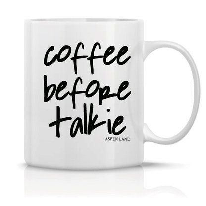 Need your cup of joe in the morning?  Then this mug is just for you.
