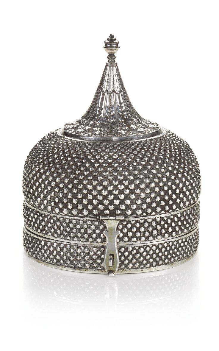 A silver onion-form spice box (pandan), India, early 19th century   lot   Sotheby's