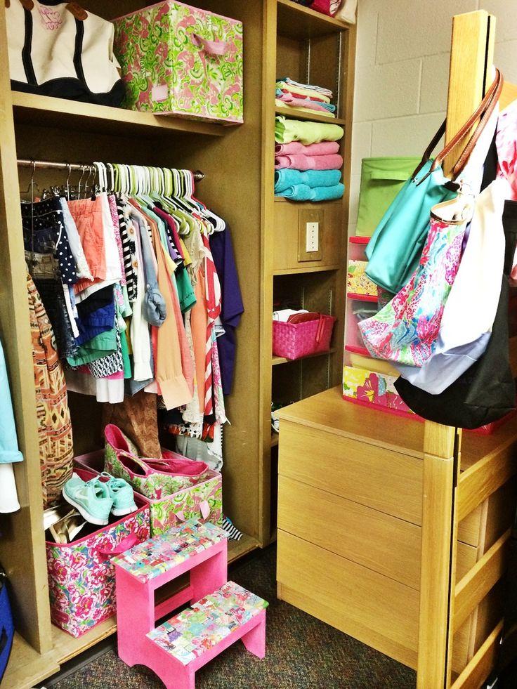 Closet Organization Inspiration. Dorm Room ...