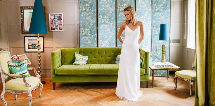 Brautkleider – schlicht, modern & Vintage – küssdiebraut