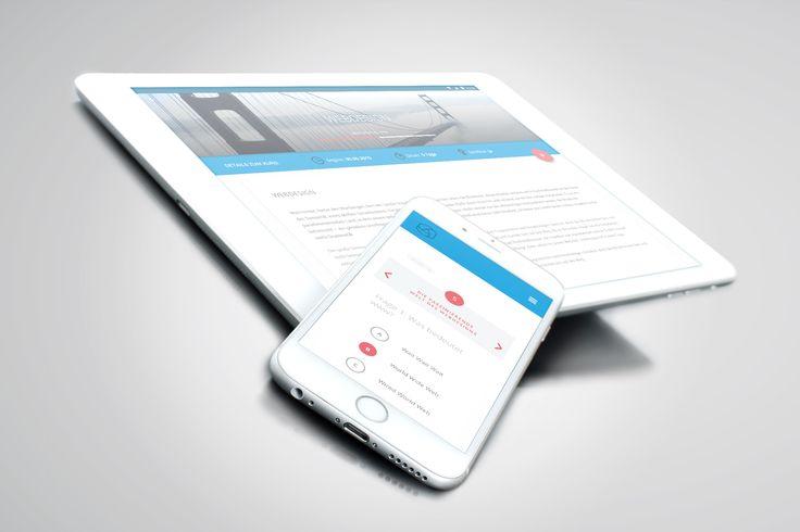 Material Design | elearning | App | Tablet | Smartphone | UI UX | appcom