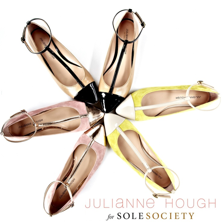 Announcing Julianne Hough for Sole Society