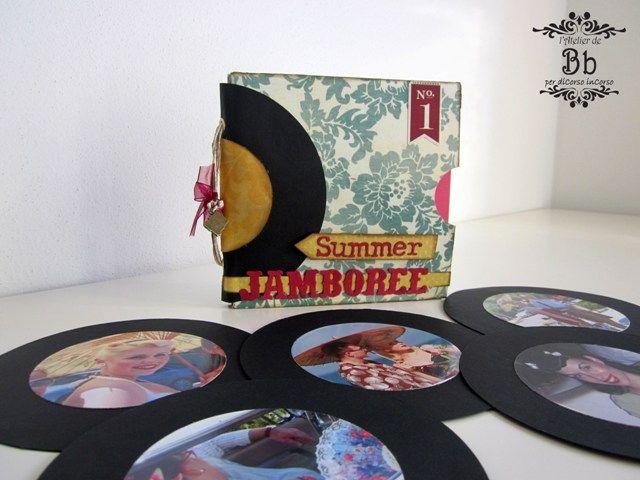 DI CORSO IN CORSO: Mini album a buste - Summer Jamboree