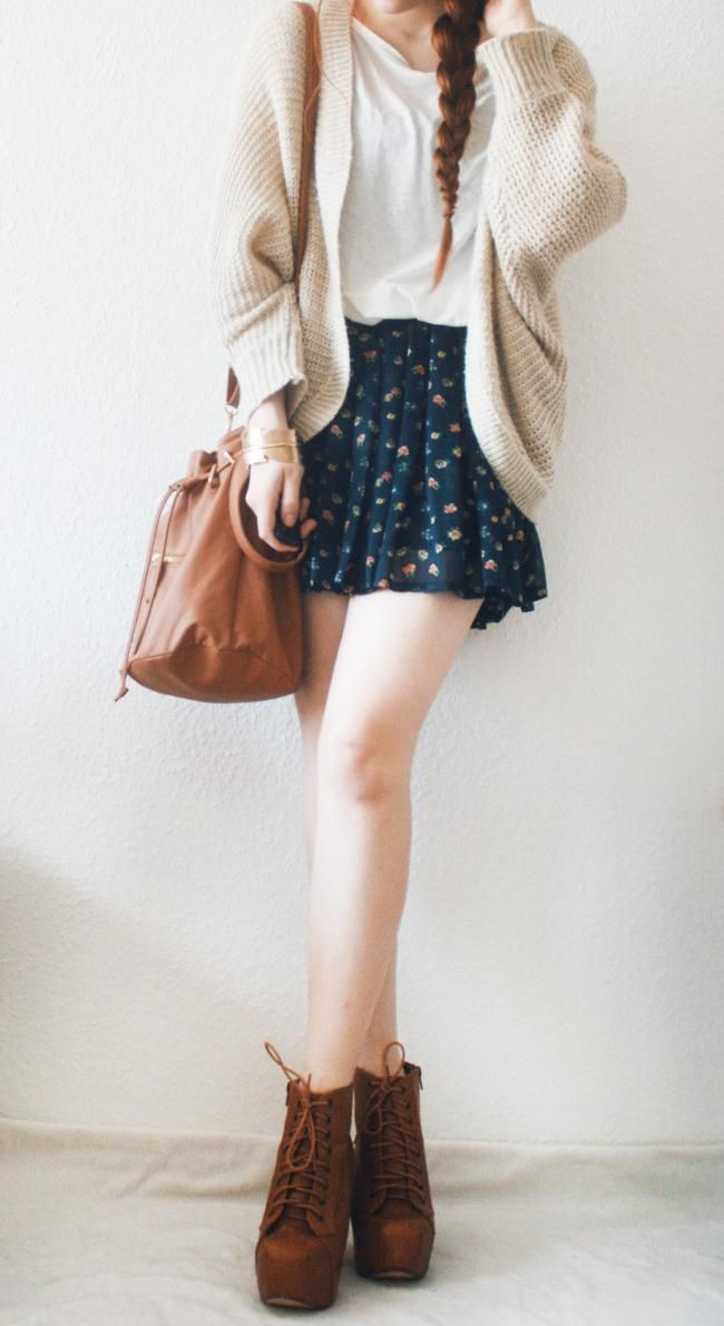 but a longer skirt and maybe leggings for fall/winter... okay, maybe not winter, it's too cold here