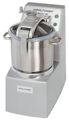 ROBOT COUPE VERTICAL FOOD MIXER BLENDER 5.5 HP 20 QUART STAINLESS BOWL - BLIXER