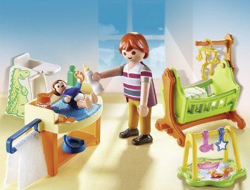 131 best images about maison de poup e playmobil et for Playmobil kinderzimmer 4287