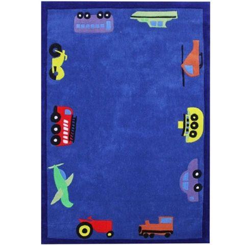 Car Design 220 x 150 cm Floor Rug