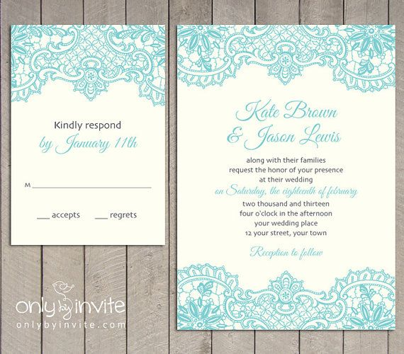 Hey, I found this really awesome Etsy listing at https://www.etsy.com/listing/126432922/vintage-lace-wedding-invitation