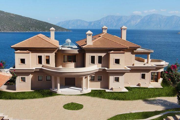 Διώροφη εξοχική κατοικία στο Σκορπονέρι   vasdekis