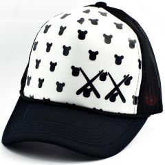 Panda Kafası X X Cap Şapka