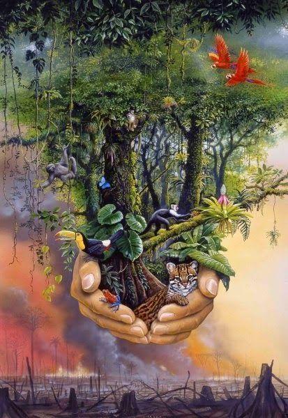 folhas do mundo: Dia da Terra