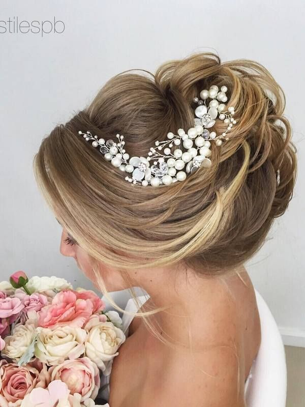 Long Wedding Hairstyles Fair 553 Best Wedding Hair Images On Pinterest  Wedding Hair Styles