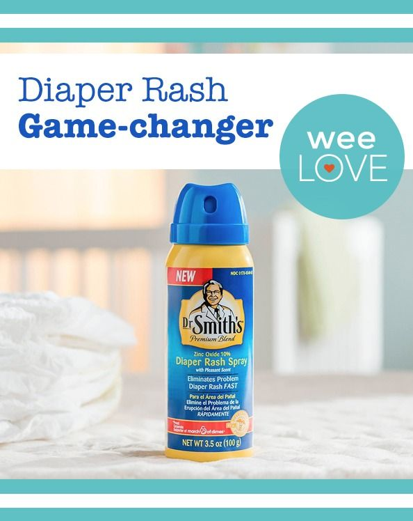 A tried-and-true diaper rash ointment now available as a spray!