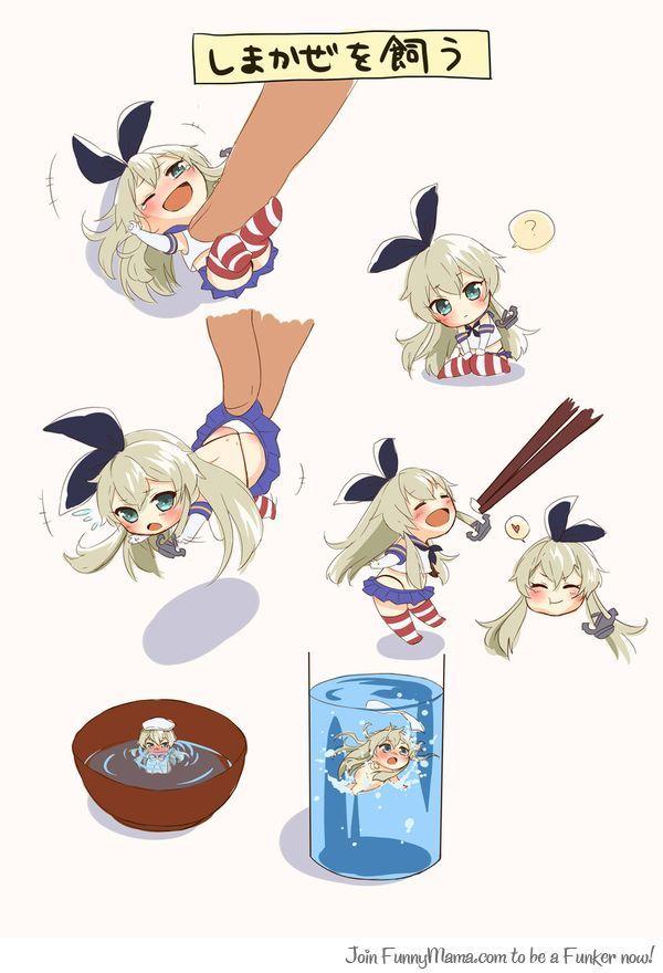 Raising Shimakaze