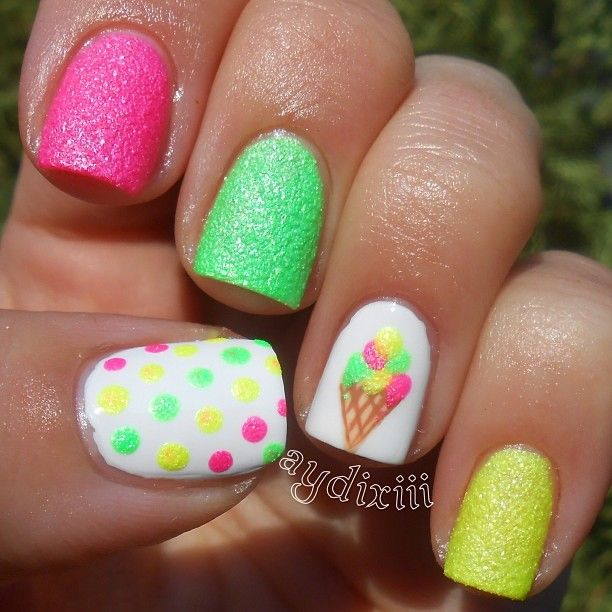 Ice Cream Nails: 25+ Best Ideas About Ice Cream Nails On Pinterest