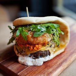 Baco Mercat | Signature flatbread sandwich :: Gotta try this place!