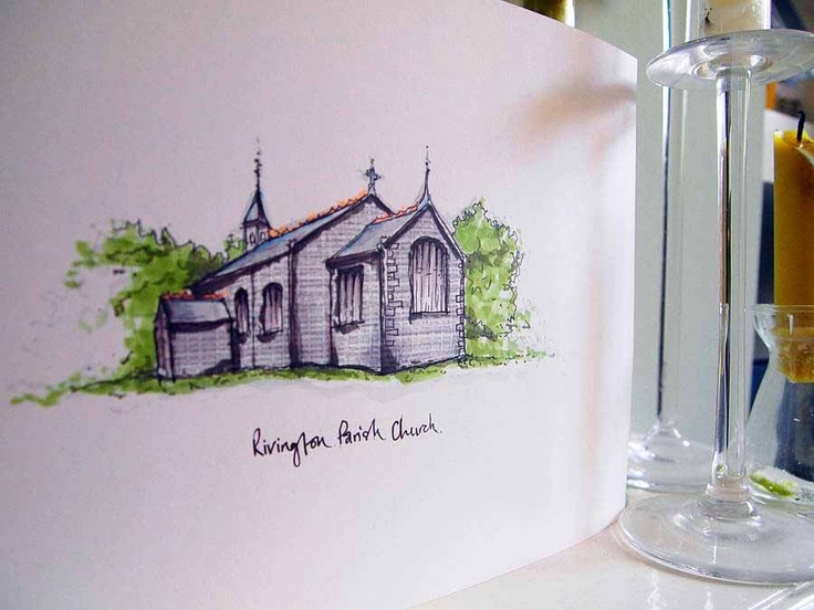 Wedding Venue Illustration, £42.00