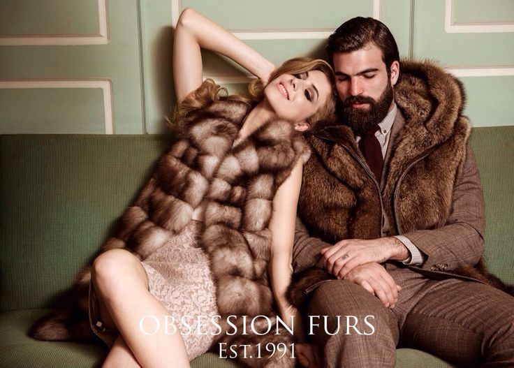 Obsession furs vest fisher