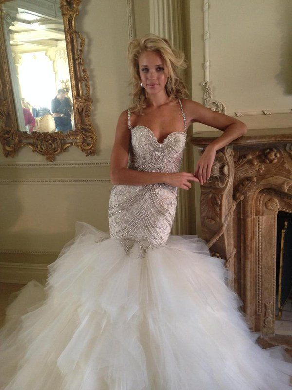 Eve of Milady wedding gown - #4348