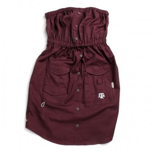 Aggie Columbia dress. This would match Ben's Columbia shirt!! So cute!