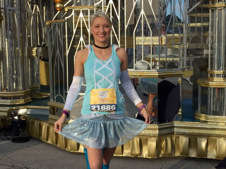 I actually do sweat, but I also sparkle... - run sugarbean Cinderella running costume! #rundisney